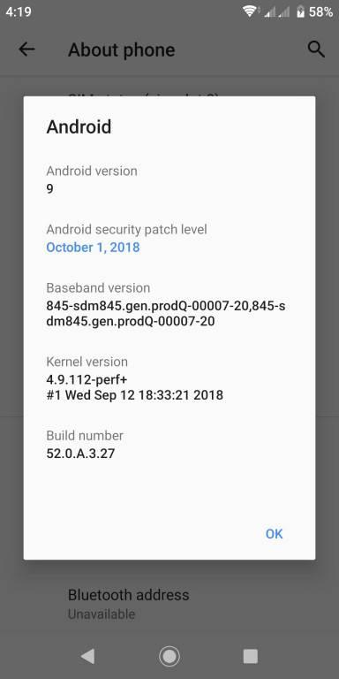 Xperia-XZ2-Update آپدیت اندروید 9 برای اکسپریا XZ2 سونی منتشر شد