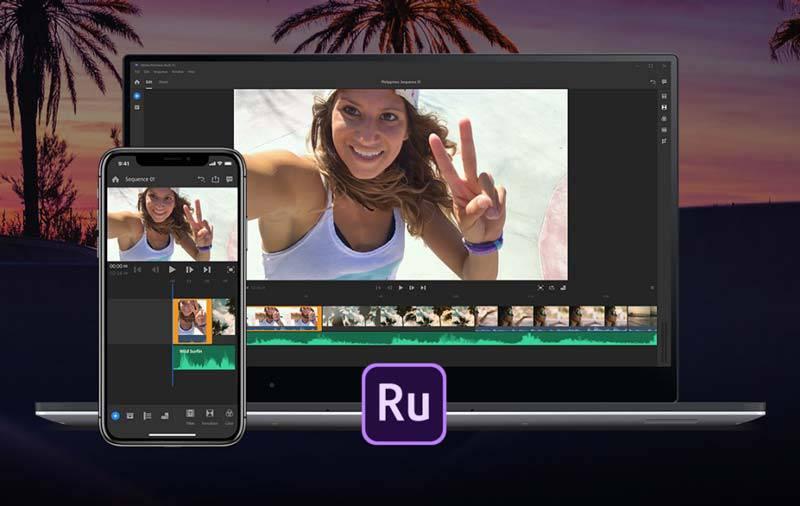 adobe-premiere-rush ویرایشگر ویدیویی جدید ادوبی مخصوص شبکههای اجتماعی با نام Premiere Rush منتشر شد
