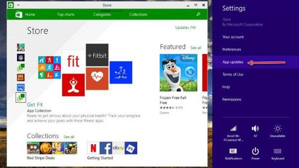 apps-update-in-windows-10 5 مشکل رایج ویندوز 10 و راه حل آنها