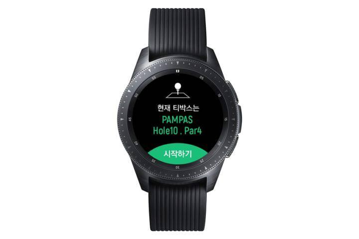 galaxy-watch-golf-edition-3 سامسونگ از ساعت هوشمند جدید گلکسی واچ گلف ادیشن رونمایی کرد