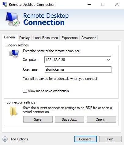muo-linux-server-remote-rdp چهار روش اجرای برنامهها و بازیهای لینوکس بر روی ویندوز