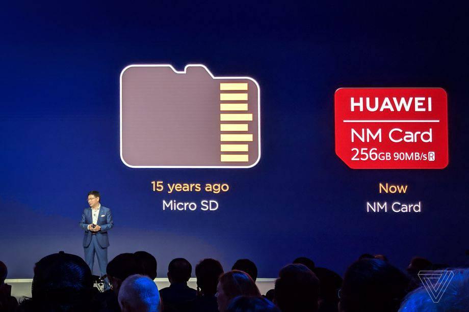 nano-memory هواوی کارتهای حافظه نانو مموری را جایگزین کارتهای میکرو SD میکند!
