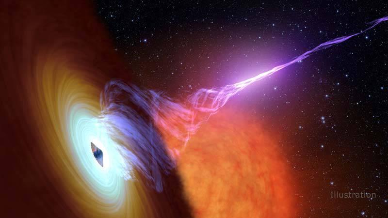 nustar20171030-16 برای نخستین بار ستارهشناسان موفق به مشاهده سیاهچالهای عظیم با یک میدان مغناطیسی تغذیهگر شدند!
