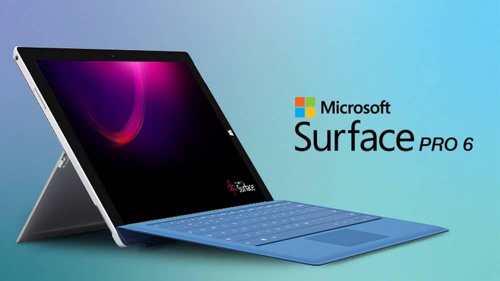 surface-pro-6-1 مقایسه مشخصات تبلت مایکروسافت سرفیس پرو 6 با آیپد پرو اپل