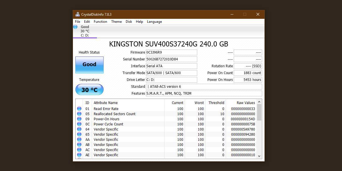 1-1 چگونه میتوان سلامت SSD خود را بر روی ویندوز 10 بررسی کرد؟