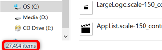 2018-10-31_20h32_05-1 چگونه میتوان عکسهای ذخیره شده در ویندوز ۱۰ را پیدا کرد؟!