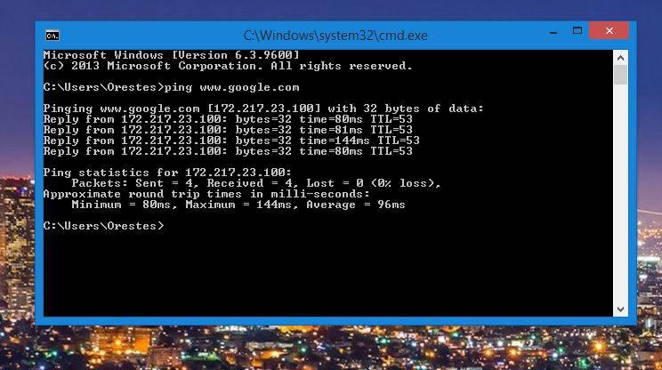 3-7 نحوه استفاده از دستور Ping برای آزمایش شبکه در ویندوز، مک و لینوکس