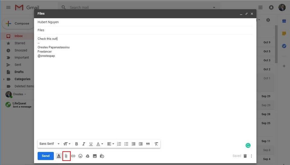 4-3 چگونه فایلهای با حجم بالا را از طریق ایمیل ارسال کنیم؟