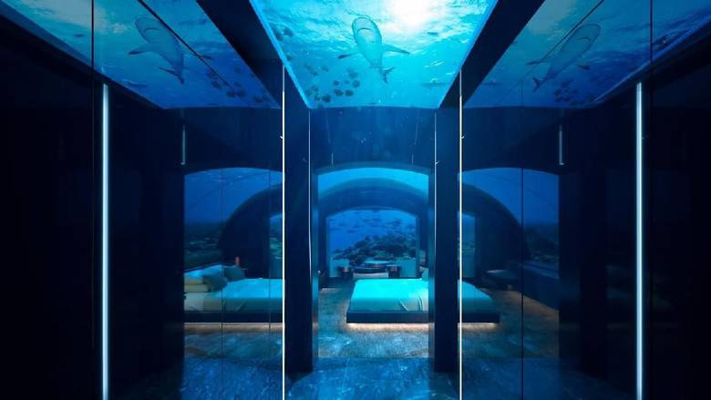 7254d46e-3521-437f-8608-6a87b1457d0f_169 یک شب اقامت در اولین هتل زیرآبی جهان پنجاه هزار دلار هزینه دارد!
