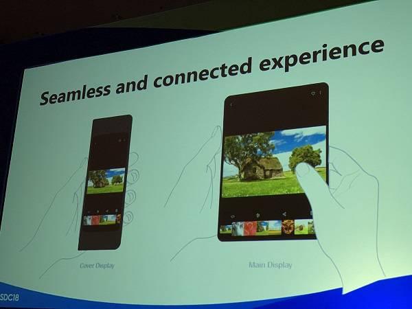 App-behaviour-on-foldable-Samsung-phones-1 توضیحات گوگل در خصوص اندروید Q و قابلیتهای آن در انطباق با گوشیهای خمشدنی
