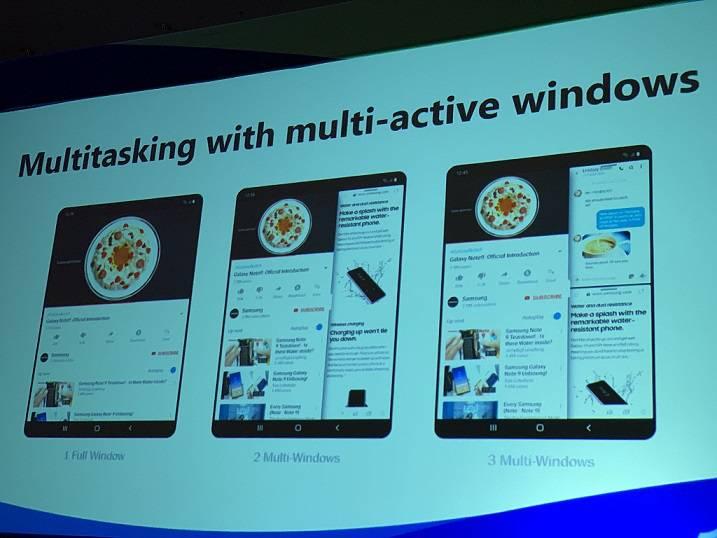App-behaviour-on-foldable-Samsung-phones توضیحات گوگل در خصوص اندروید Q و قابلیتهای آن در انطباق با گوشیهای خمشدنی