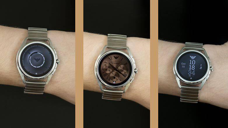 Emporio-Armani_09-w782 نحوه استفاده از گوگل اسیستنت در ساعتهای هوشمند