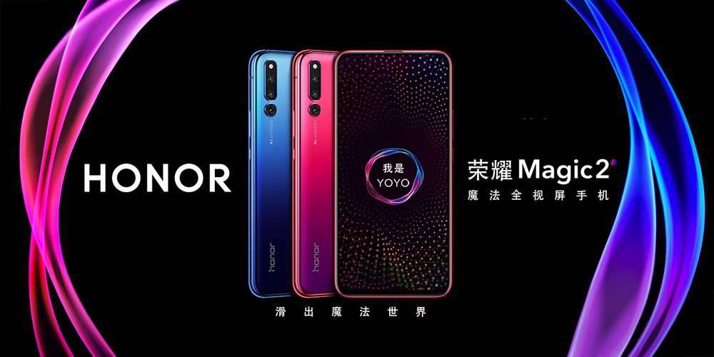 Honor-Magic-2-آنر-مجیک-2-4-1000x500 آنر مجیک 2 با دوربین سلفی سهگانه و حسگر اثر انگشت یکپارچه با نمایشگر معرفی شد!