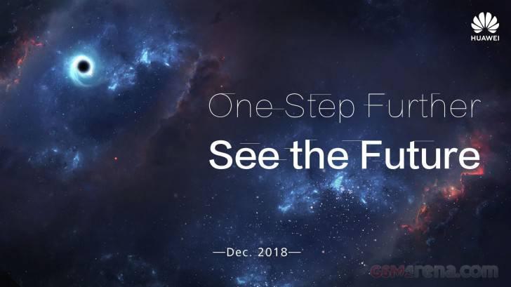 Huawei-poster-for-its-upcoming-smartphone-with-a-hole-in-the-screen پوستر جدید هواوی در خصوص صفحه نمایش روزنهای