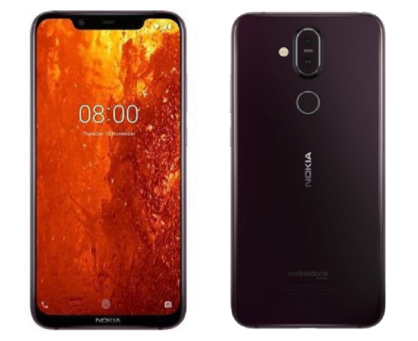 Leaked-Nokia-8.1-marketing-images-reveal-design-and-spec-sheet تصاویر مارکتینگ نوکیا 8.1 مشخصات و طراحی آن را فاش کرد