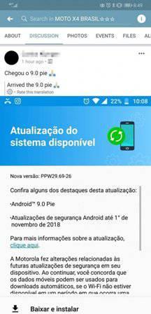 Moto-X4-update بهروزرسانی اندروید پای برای موتو X4 عرضه شد