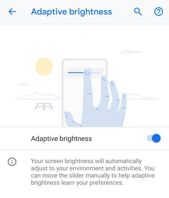 android-adaptive-brightness-546x640 قابلیت تطبیق روشنایی اندروید از یادگیری ماشینی بهره میگیرد!