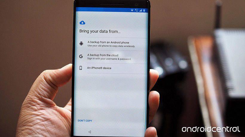 android-data-restore نحوه انتقال برنامهها و تنظیمات از گوشی قدیمی به گوشی جدید