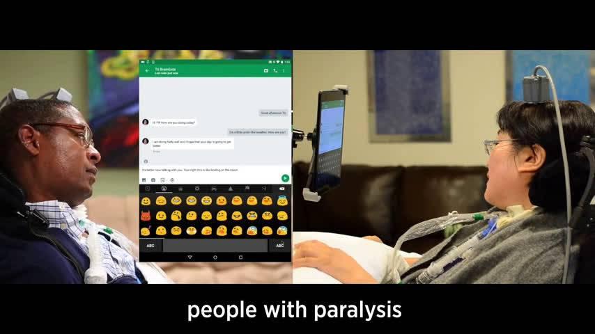 رابط کاربری BrainGate به افراد مبتلا به فلج برای کنترل تبلت کمک میکند!