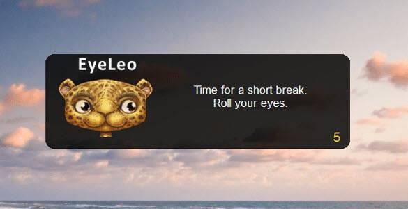 eye-leo آشنایی با نرمافزارهای محافظت از چشم و جلوگیری از خستگی در ویندوز