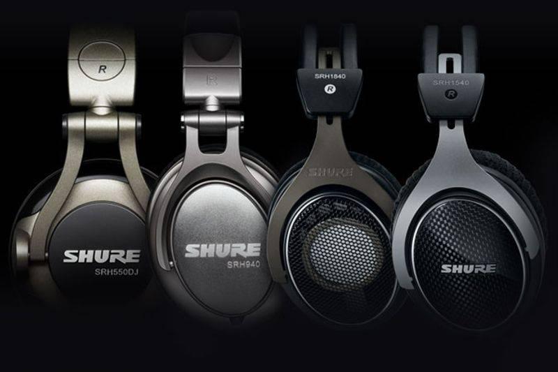 shureHeadphones-1 با بهترین هدفونهای شور آشنا شوید (آبان ماه ۹۷)