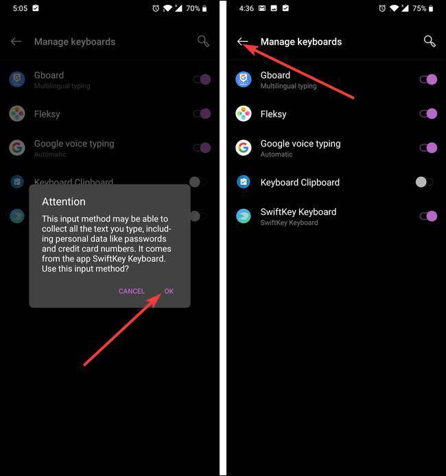 تغییر-صفحه-کلید-اندروید-4 چگونه صفحه کلید پیشفرض گوشیهای اندرویدی را تغییر دهیم؟