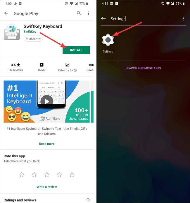 تغییر-صفحه-کلید-اندروید چگونه صفحه کلید پیشفرض گوشیهای اندرویدی را تغییر دهیم؟