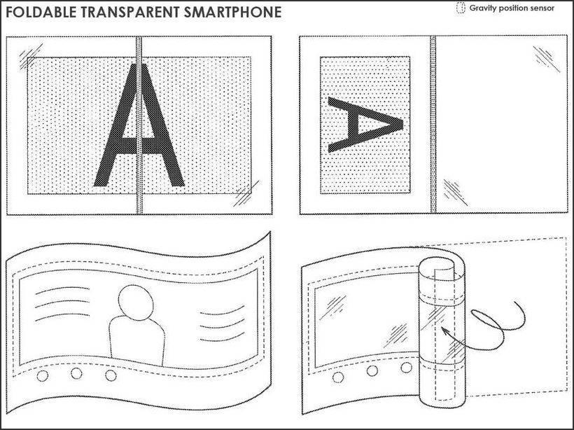 00 گوشی انعطافپذیر سونی نمایشگری با قابلیت تغییر میزان شفافیت خواهد داشت!