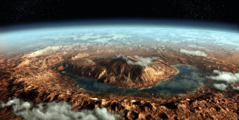 171003-MarsLake-Full ناپدید شدن گاز متان در سیاره مریخ معمایی را برای دانشمندان اثبات کرد!