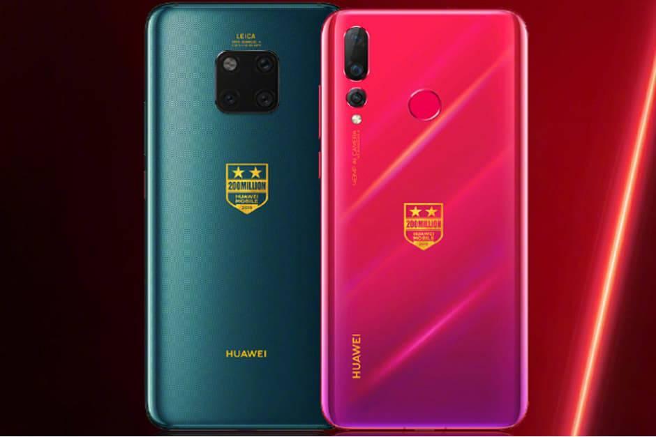 Huawei-to-release-Mate-20-Pro-and-Nova-4-special-editions-to-commemorate-200-million-phones-shipped هواوی به مناسبت شکستن رکورد فروش 200 میلیون گوشی، نسخههای ویژه میت 20 پرو و نوا 4 را به فروش میگذارد
