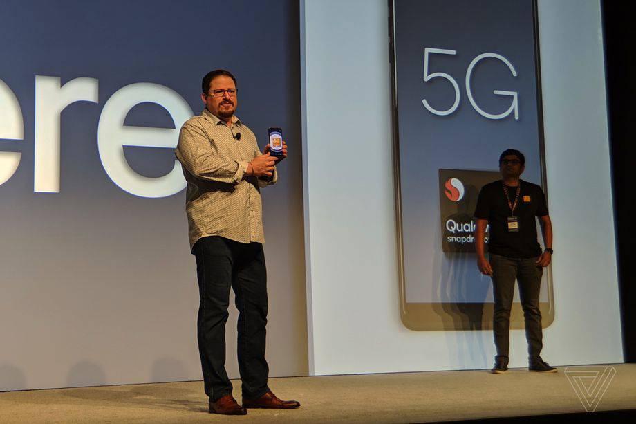 IMG_20181204_092530 کوالکام پردازنده اسنپدراگون 855 را برای گوشیهای 5G معرفی کرد