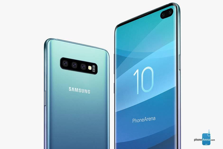 Leaked-Samsung-Galaxy-S10-screen-protector-shows-off-Infinity-O-display-thinner-bezels گلکسی E S10 نام عضو ارزانقیمت پرچمدار جدید سامسونگ خواهد بود