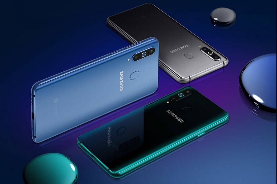 Samsung-Galaxy-A8s گلکسی A8s به عنوان اولین گوشی دارای نمایشگر حفرهدار رسما معرفی شد!