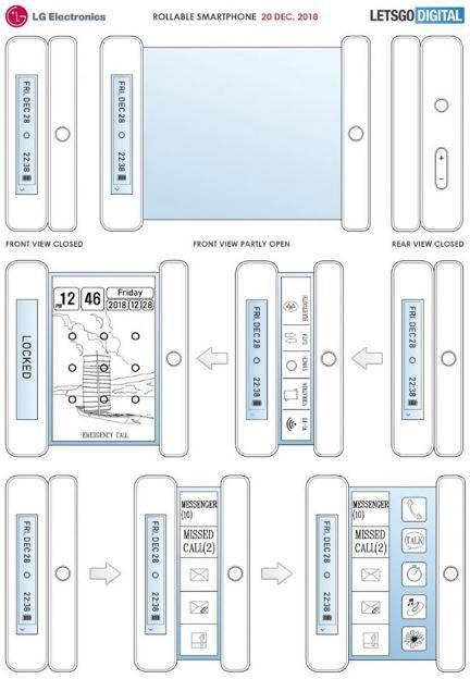 Samsung-foldable-phone گوشی منعطف الجی میتواند بهصورت سهبعدی عکاسی کند!