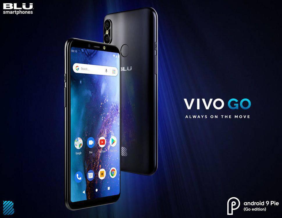 blu-vivo-go بلو Vivo Go با قیمت ارزان و قابلیتهای جالب معرفی شد