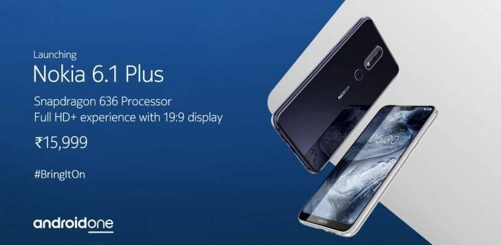 gsmarena_000 اسمارتفون نوکیا 6.1 پلاس یکی از محبوبترین گوشیهای سال 2018 است