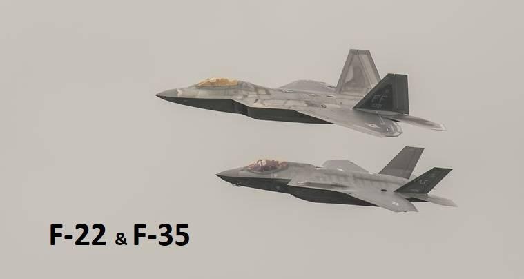 lockheed-martin-f-22-raptor-and-lockheed-martin-f-35-news-photo-545702976-1545073475 هزینه ساخت یک جنگنده نسل ششم نیروی هوایی آمریکا چقدر است؟!