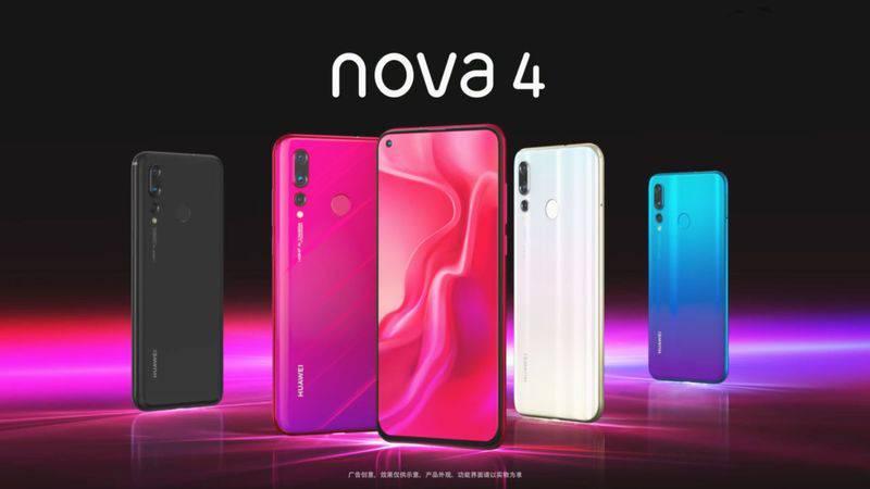 nova-4-3 مقایسه مشخصات گلکسی A8s با آنر V20 و هواوی نوا 4؛ پادشاهان پنلهای اینفینیتی O
