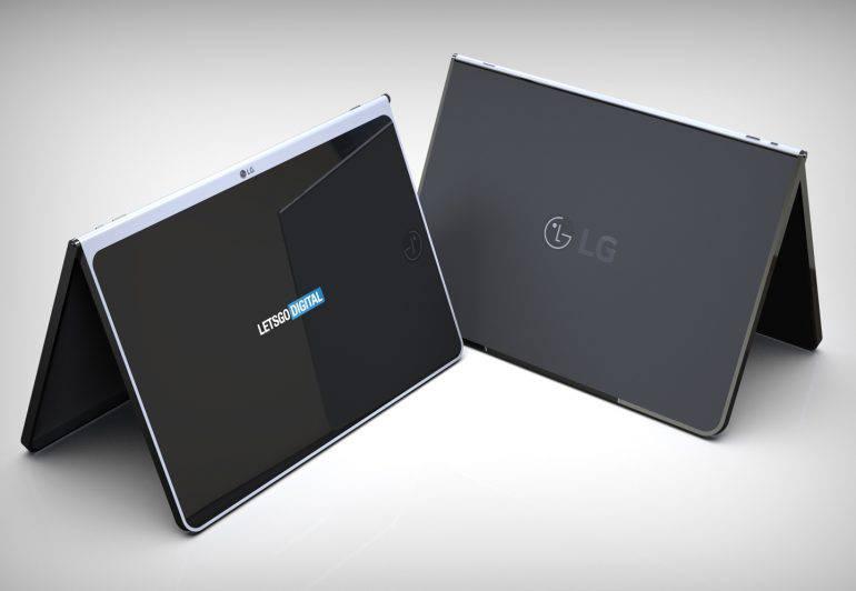 tablet-cover-770x532 الجی پتنت مربوط به یک تبلت جدید با کاور و صفحهکلید بیسیم را ثبت کرد