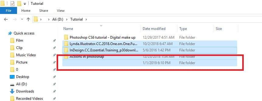 5-1 آموزش نامرئی کردن کامل فولدر و فایلهای سیستمی در ویندوز 10