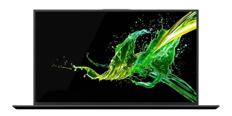 Acer-Swift-7-2019 ایسر از اولترابوک سوئیفت 7 با 92 درصد نسبت صفحه نمایش به بدنه در CES 2019 رونمایی کرد