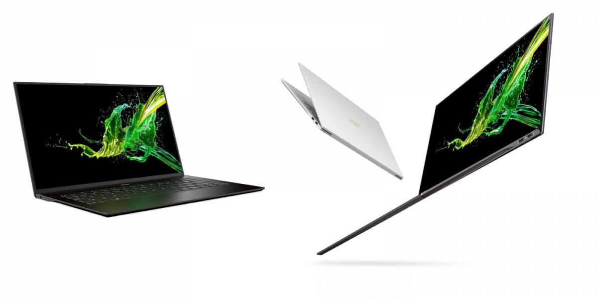 Acer-Swift-7 ایسر از اولترابوک سوئیفت 7 با 92 درصد نسبت صفحه نمایش به بدنه در CES 2019 رونمایی کرد