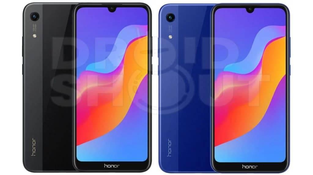 Honor-8A-Black-and-Blue-1024x571 رندرهای رسمی گوشی آنر 8A چند روز پیش از رونمایی منتشر شد