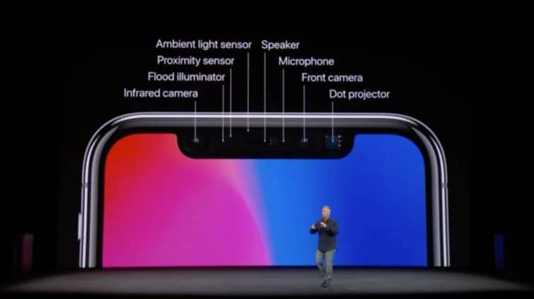 In-display-tech-could-lead-to-smaller-notch-on-2019-4series بهرهگیری از فناوریهای زیر نمایشگر، ناچ آیفون را در سال 2019 کوچکتر میکند!