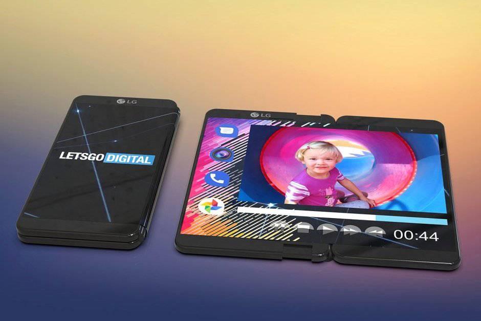 LG-patent-hints-at-foldable-smartphone-with-outward-facing-display پتنت خلاقانه جدیدی از گوشی انعطافپذیر الجی منتشر شد