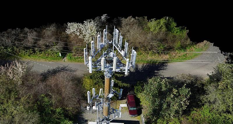 communication-tower-inspection-pix4dmapper-pix4d-drone1 نگاهی به آمار تعداد آنتنهای BTS در کشورهای مختلف و مقایسه با ایران