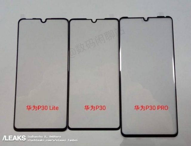 huawei-p30-lite-screen-protector-leaked-640x490 تصاویر محافظ نمایشگر و کاورهای اسمارتفون هواوی P30 لایت منتشر شد