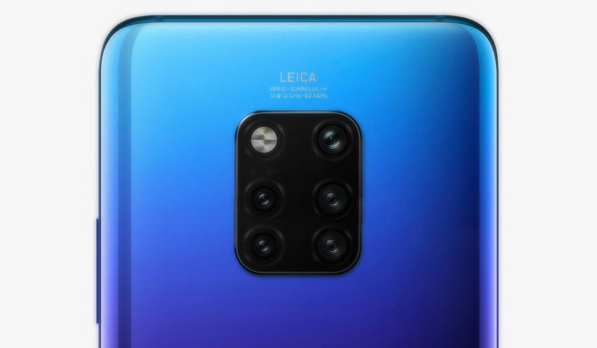 penta-camera میت 30 پرو هواوی با دوربین پنجگانه در سال 2019 معرفی خواهد شد