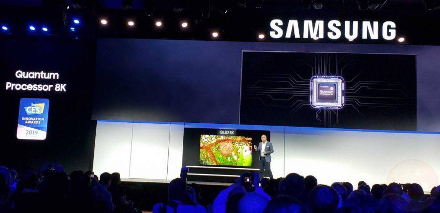 samsung-qled-8k-1-e1546938319968 سامسونگ تلویزیونهای QLED 8K جدید خود شامل یک مدل 98 اینچی را معرفی کرد