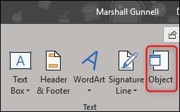 درج فایل PDF در اکسل